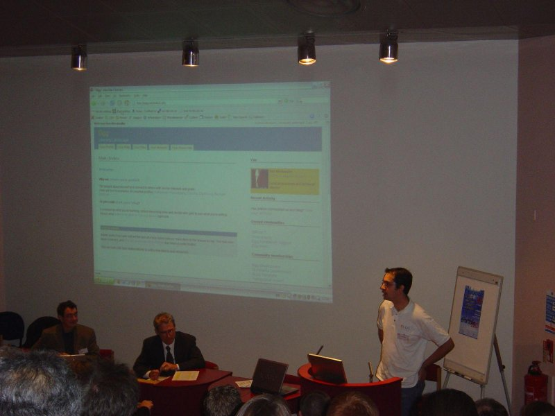 10 years and 3 days ago: speaking at the University of Cambridge about Elgg. Whoa. #tbt