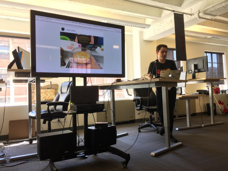 Aaron @aaronpk built images into his personal food tracker and bookmarks. #indieweb