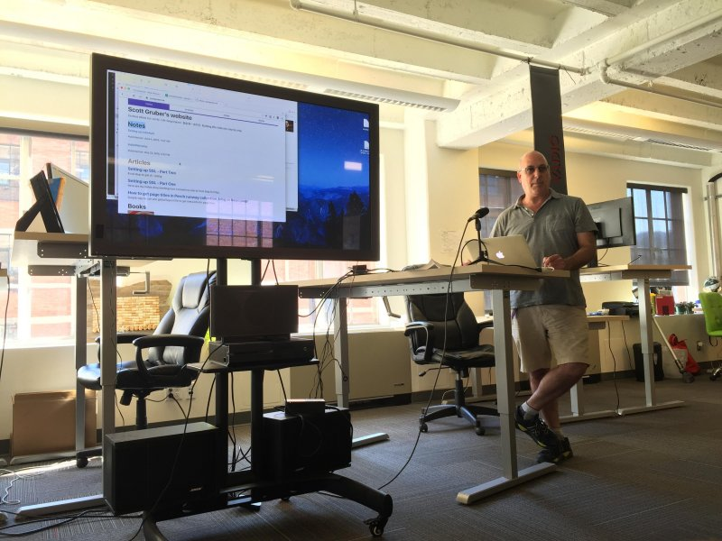 Scott @scott_gruber set up his #indieweb site, including SSL and microformats. #indieweb