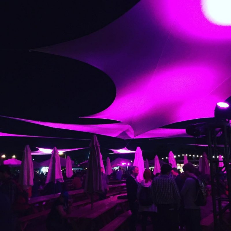#xoxofest opening party.