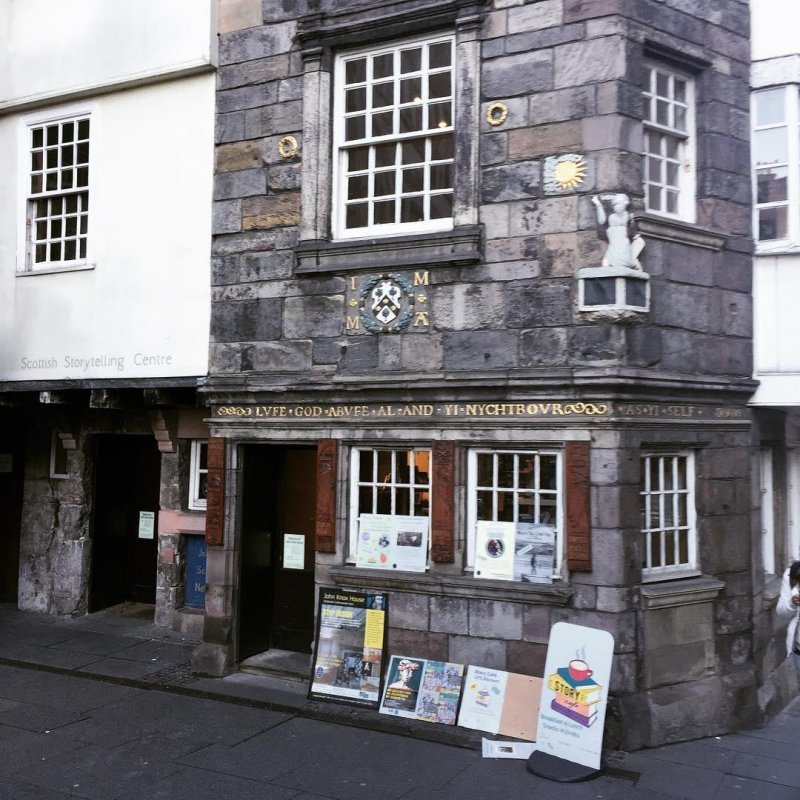 Edinburgh has a beautiful Storytelling Centre, safeguarding and documenting storytelling traditions, right on the Royal Mile. I've never lived in a city with as deep a commitment to the arts.
