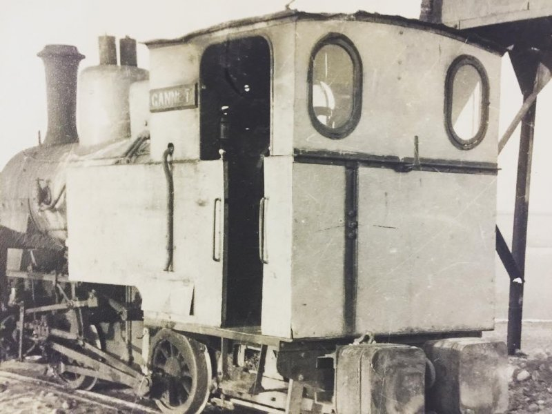 The industrial trains from Walney Island, which a certain little tank engine was inspired by.