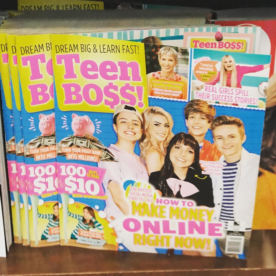 Think, teen star magazine girls