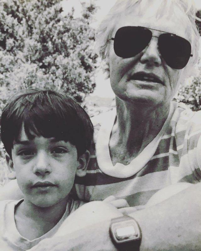 Benny and his Grandma.