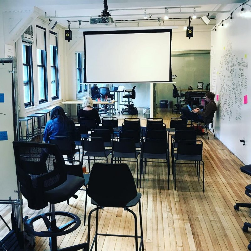 I can't believe we're doing demo day rehearsals already. It seems like yesterday that we were doing finalist interviews in this space. And what a genuinely lovely community of people we pulled together. This will always be one of the things I'm proudest of doing in my life.