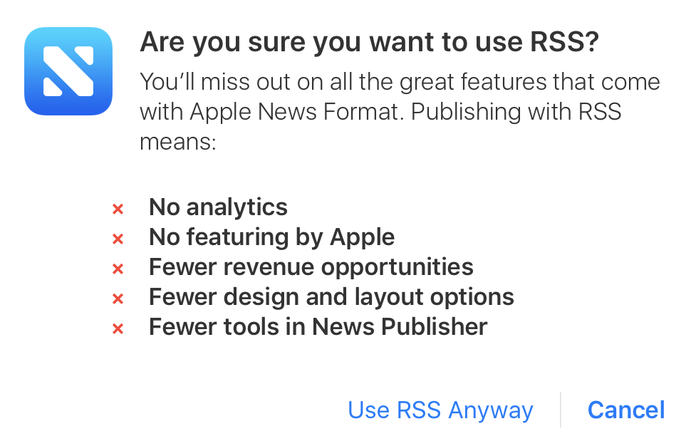 how to know if a site has an rss feed
